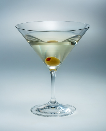 vermouth: Martini with olive isolated  vermouth