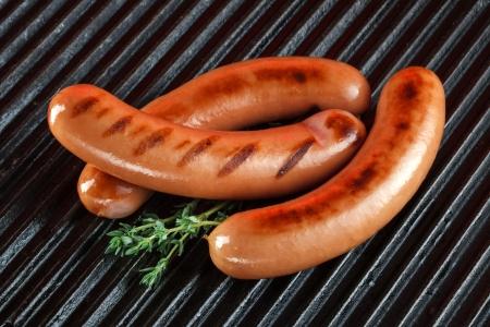 chorizos asados: Salchichas a la parrilla de la barbacoa