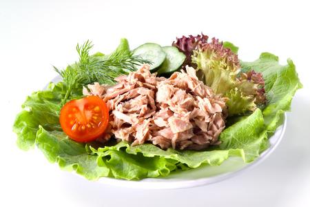 ingeblikte tonijn Stockfoto