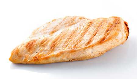 chicken fillet isolated Stock Photo - 22247729