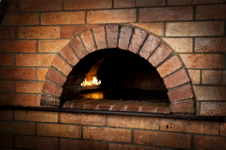 oven: A traditional oven for cooking.