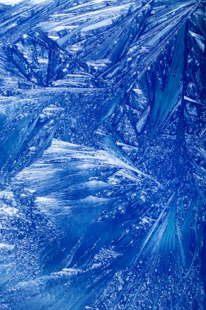 iceflower: Abstract Winter . Christmas abstract frost work on a window glass