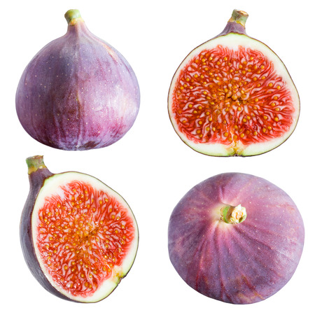 Figs collection  Fruits Stock Photo - 25039542