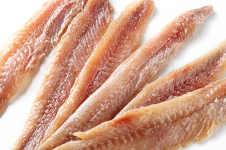 anchovy fish: Anchovy  food background
