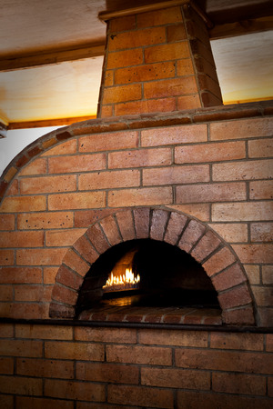 woodfire: A traditional oven for cooking.