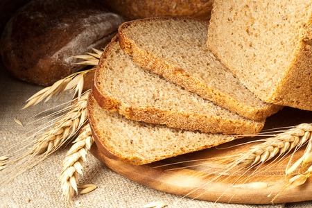 life loaf: Fresh baked bread