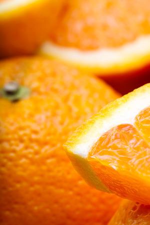 soft focus: Naranjas primer foco de Orange Soft Foto de archivo