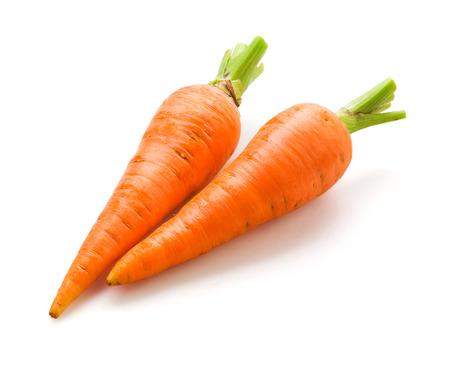 zanahorias: Zanahoria aislado Foto de archivo