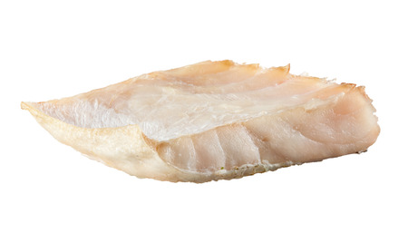 pangasius: Piece of white fish fillet isolated. Pangasius