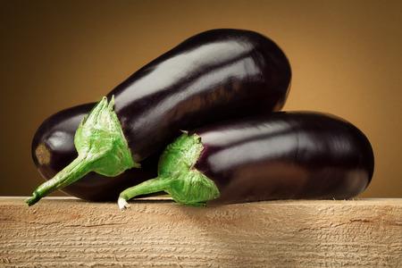 brinjal: Organic eggplant  aubergine