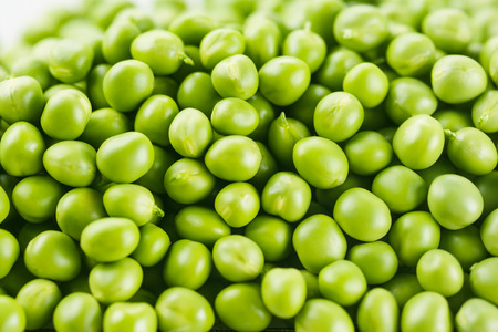 Green Peas background. Vegetable texture photo