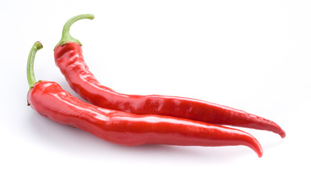 red chili pepper: Hot red chili pepper Stock Photo