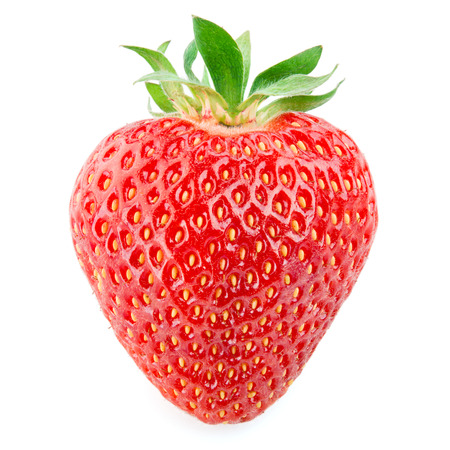 Strawberry isolated on white background Фото со стока - 36495512
