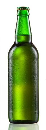 beerglass: Beer bottle