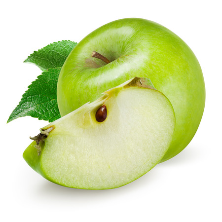 green apple: Green apple isolated on white background