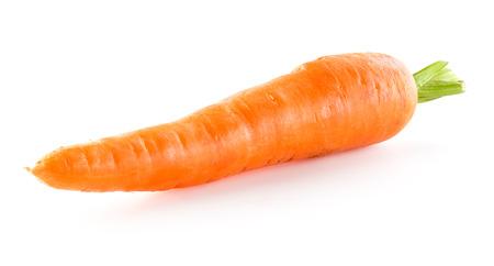 ?  ? carrot: Zanahoria aislado sobre fondo blanco