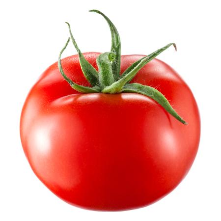 토마토는 흰색 배경에 고립