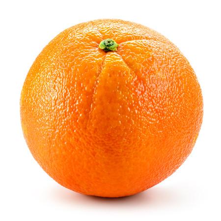 orange fruit: Orange fruit isolated on white background