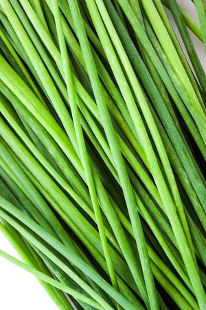 green onion: green onion. background