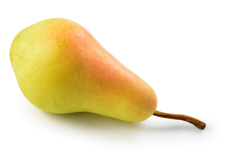 Pear isolated on a white background.With clipping path.