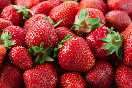 Strawberries. Background.