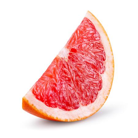 Grapefruit isolated on white b