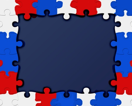 Amrican Colours  puzzle