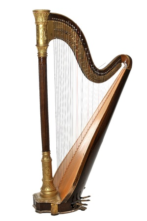 musical instruments: The concert harp