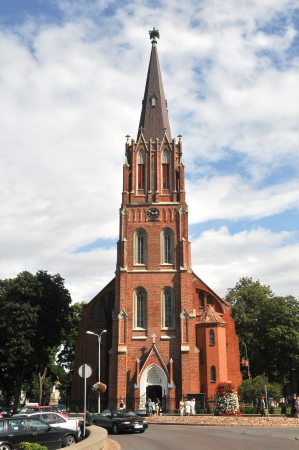 anna: St  Anna s Church Liepaja, Latvia