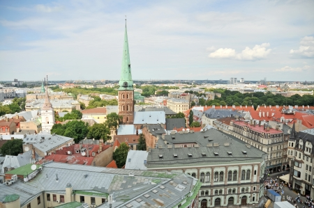 View of old city of Riga Stock Photo - 17242134