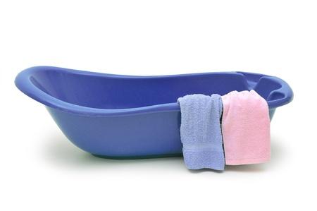 wash basin: Bath time Stock Photo