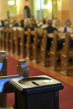 god box: church donation box
