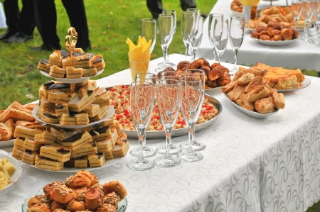 banquets: Outdoor party