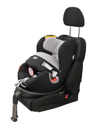 car seat: seggiolino auto isolato