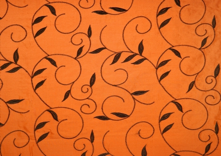 coverings: fabric wall coverings, curtain Stock Photo