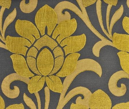 blubber: velvet fabric wallpaper