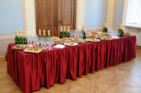 holiday table Stock Photo - 22149483