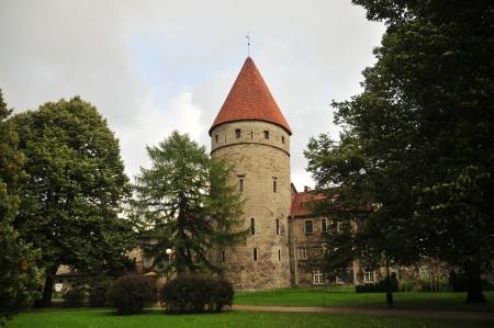 tallin: Old Town walls, Tallin, Estonia
