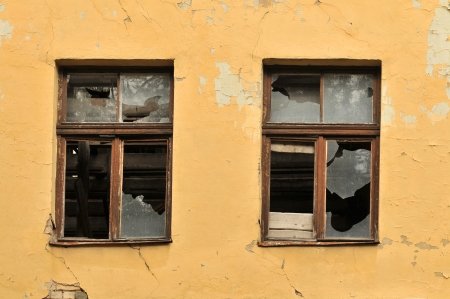ventana rota: vieja ventana rota