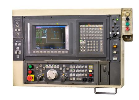 panel de control: Moderno panel de control industrial Foto de archivo