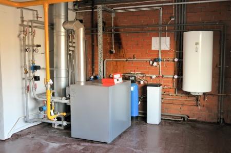 heater: Gas boiler