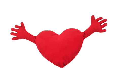heart with hands photo