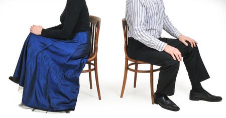 dissension: divorce couple