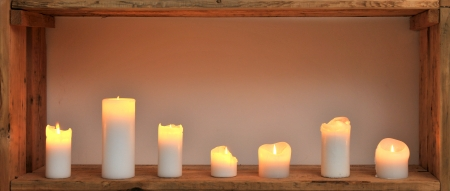 warming therapy: seven candles