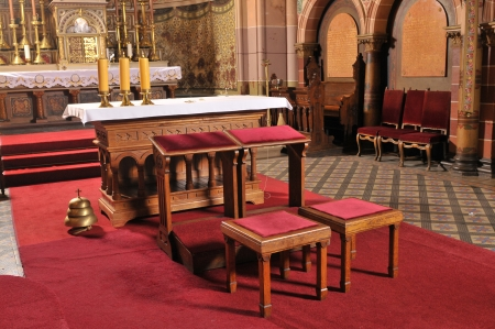 Catholic altar in church