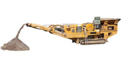 Machine for crushing stone