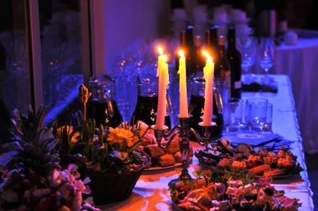 catering service: banquet Stock Photo
