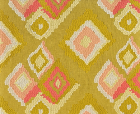 fabric with abstract grid photo