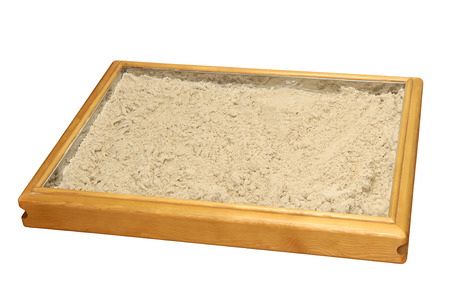 Sand therapy box