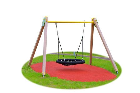 childrens swing photo